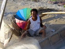 epv 0245.jpg Sur la plage de Padre Burgos sur l'île de Leyte