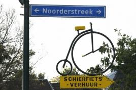 dsc 4607.jpg Enseigne dans le village de Schiermonnikoog